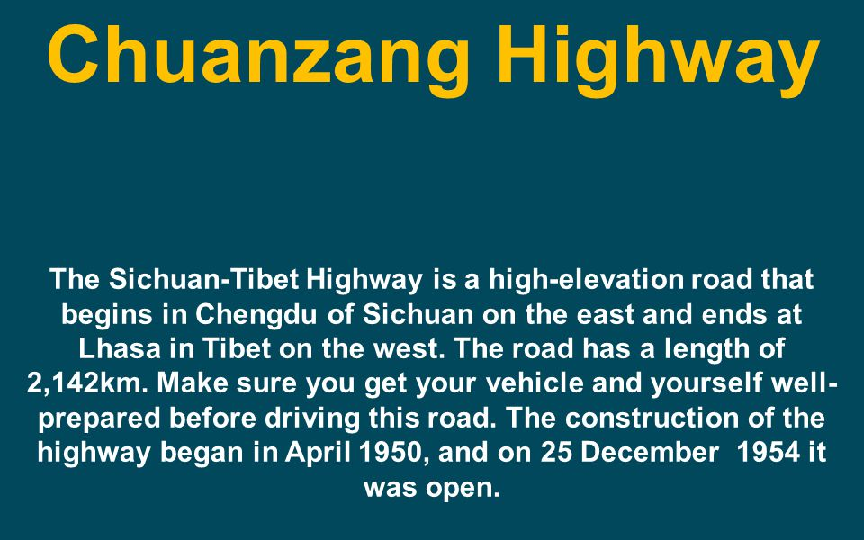 Chuanzang Highway