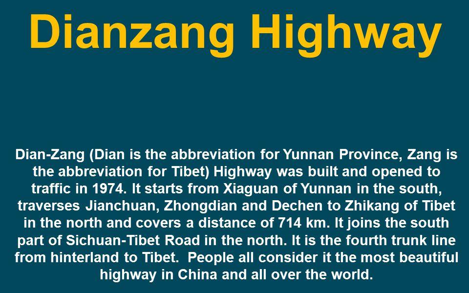 Dianzang Highway