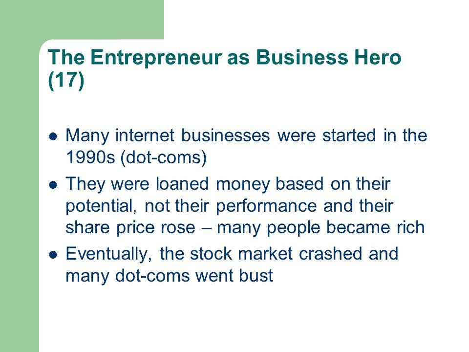 The Entrepreneur as Business Hero (17)
