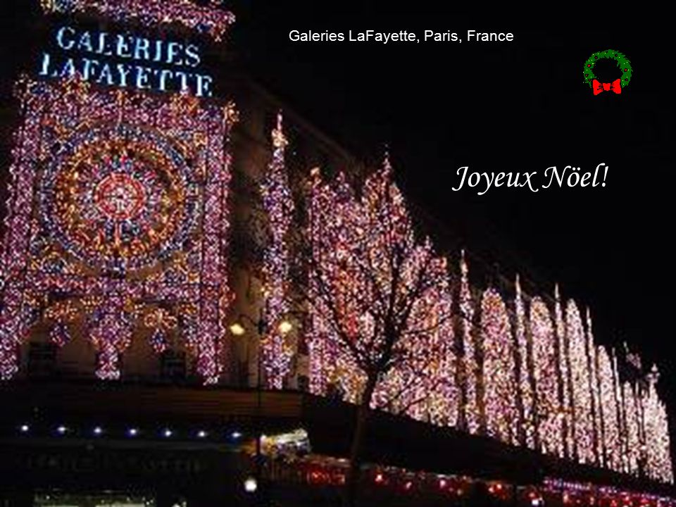 Galeries LaFayette, Paris, France