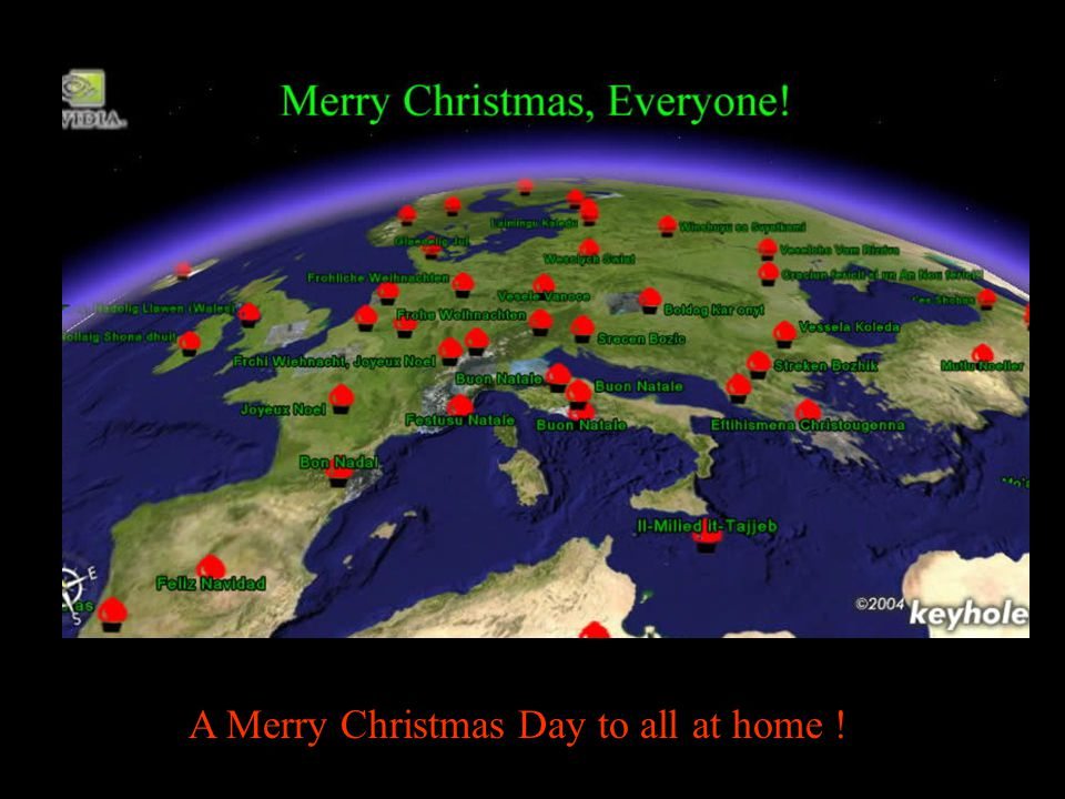 A Merry Christmas Day to all at home !