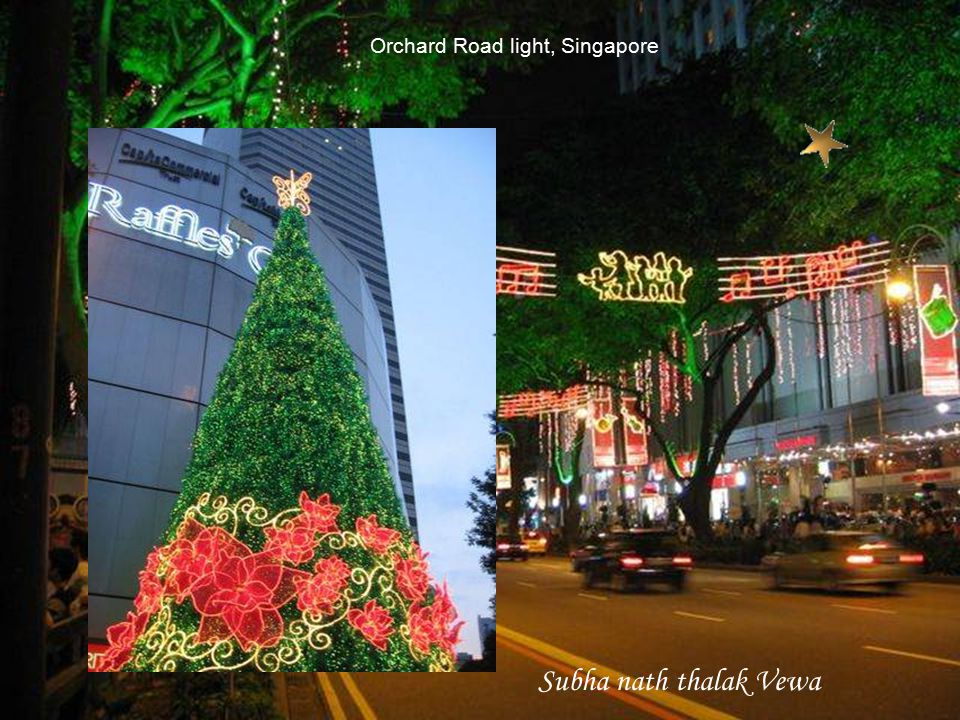 Orchard Road light, Singapore