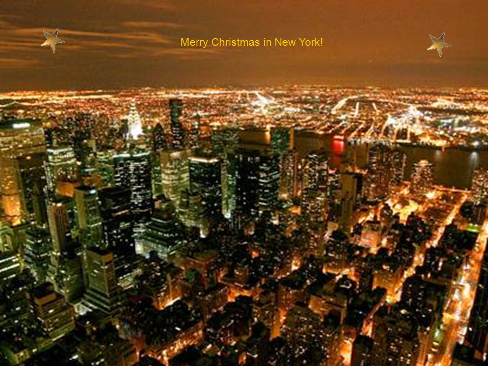 Merry Christmas in New York!