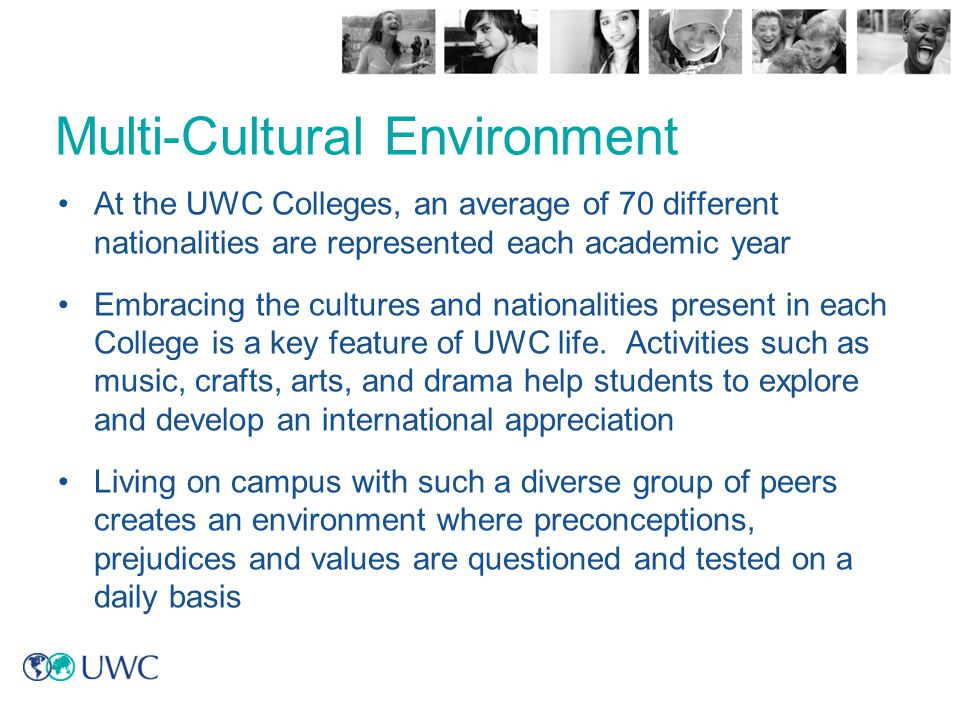 Multi-Cultural Environment
