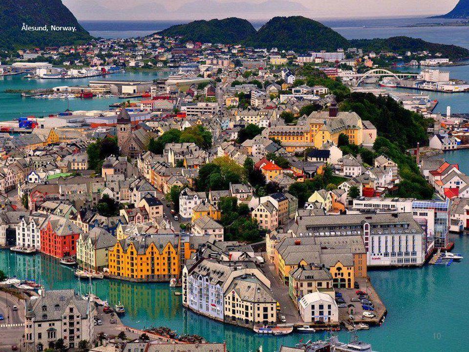 Ålesund, Norway.