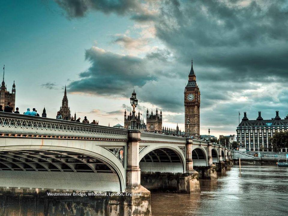Westminster Bridge, Whitehall, London, England.