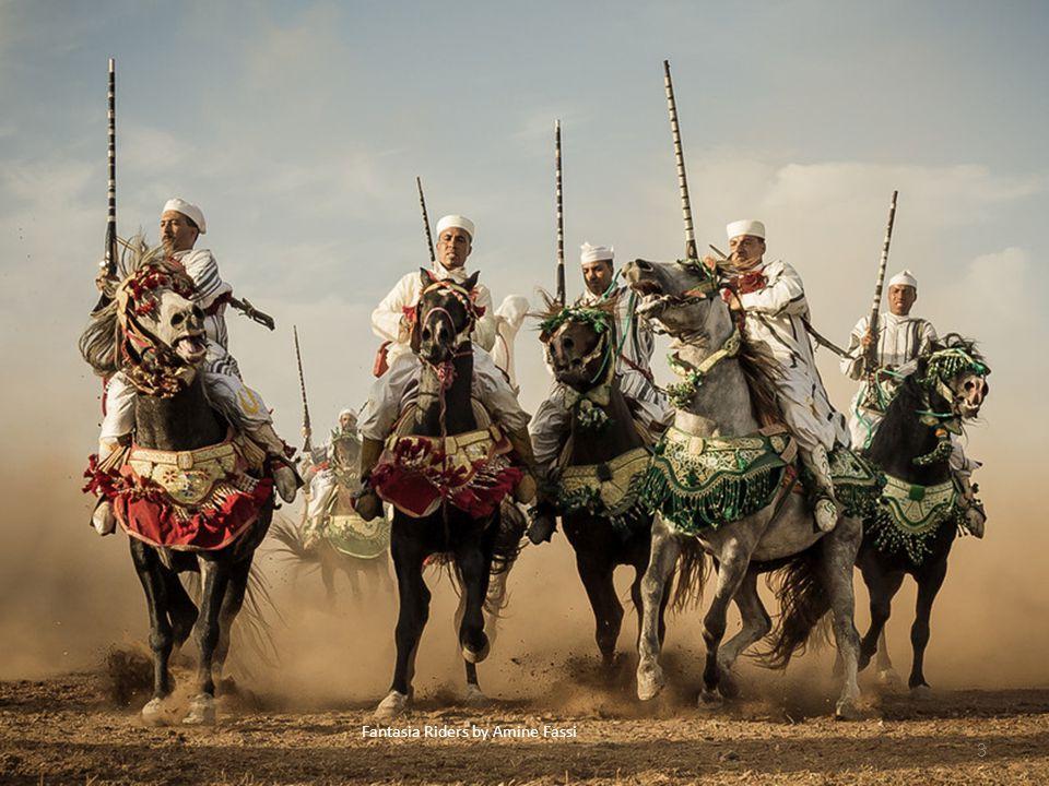 Fantasia Riders by Amine Fassi