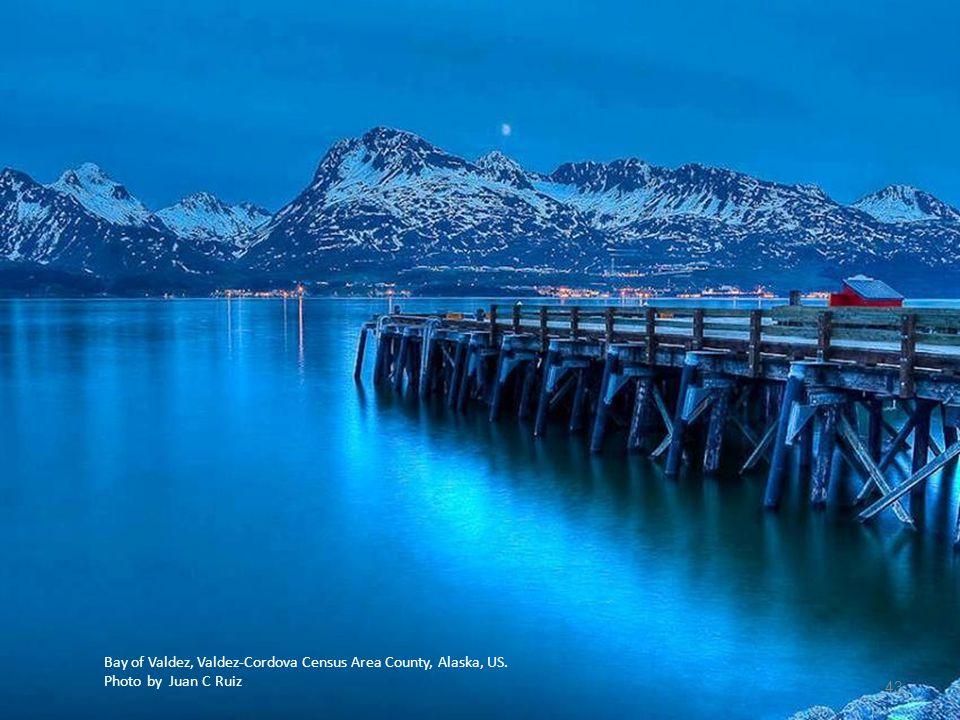 Bay of Valdez, Valdez-Cordova Census Area County, Alaska, US