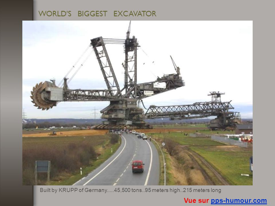 WORLD S BIGGEST EXCAVATOR
