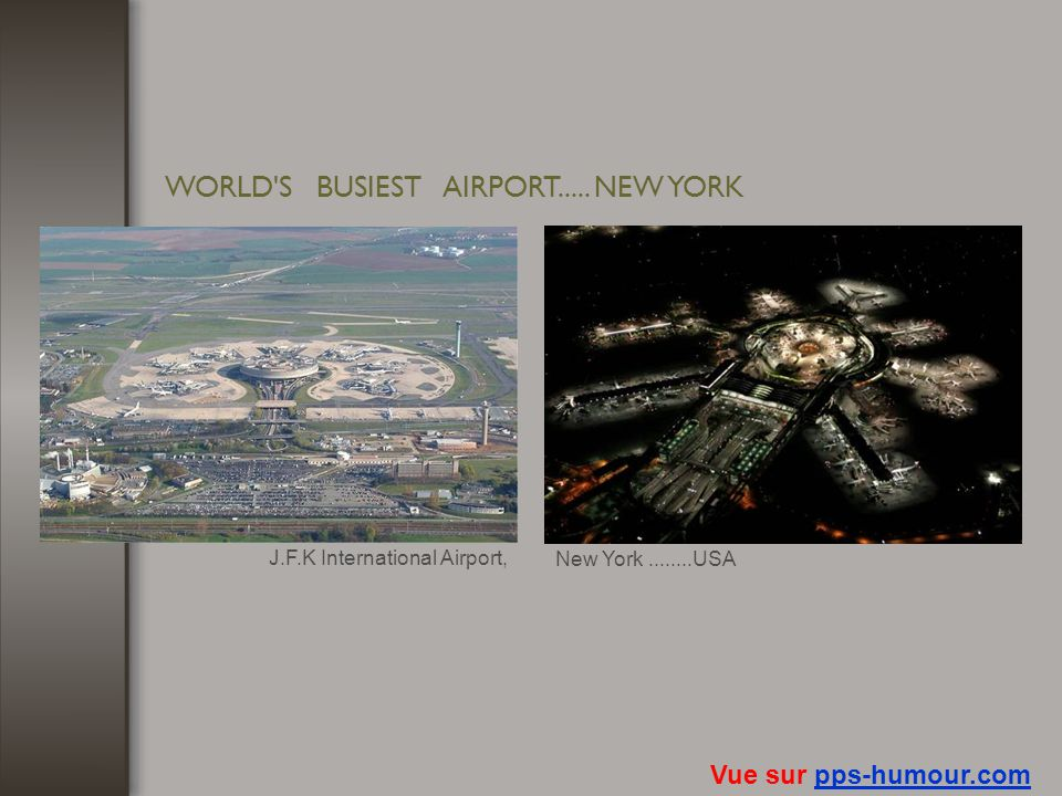 WORLD S BUSIEST AIRPORT..... NEW YORK