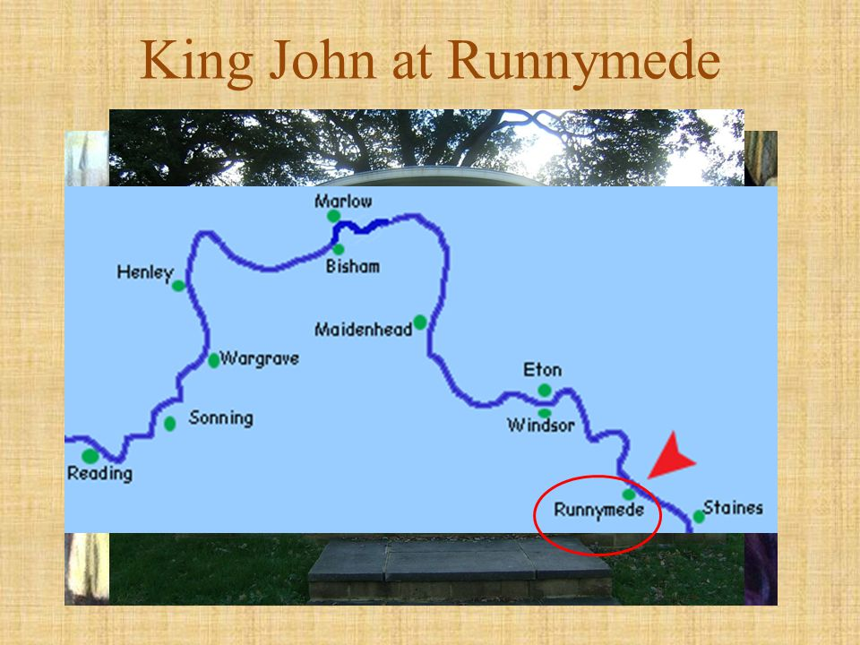 King John at Runnymede