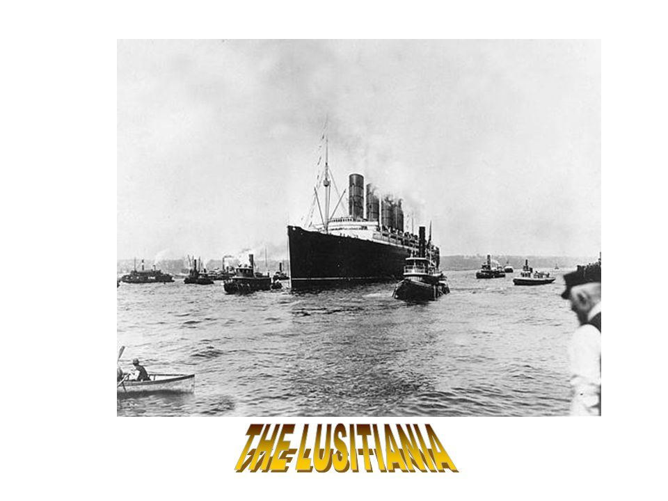 THE LUSITIANIA