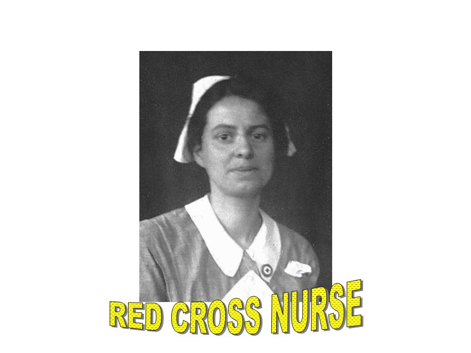 RED CROSS NURSE