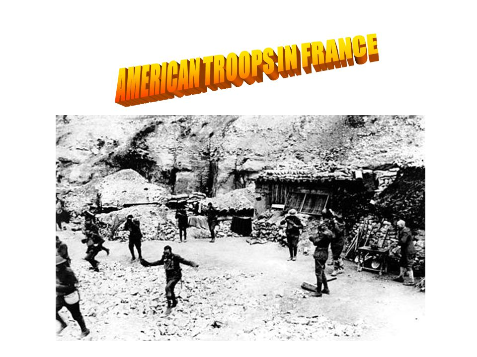 AMERICAN TROOPS IN FRANCE