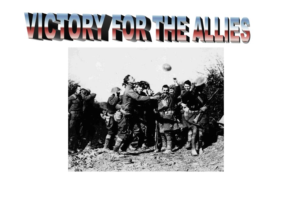 VICTORY FOR THE ALLIES