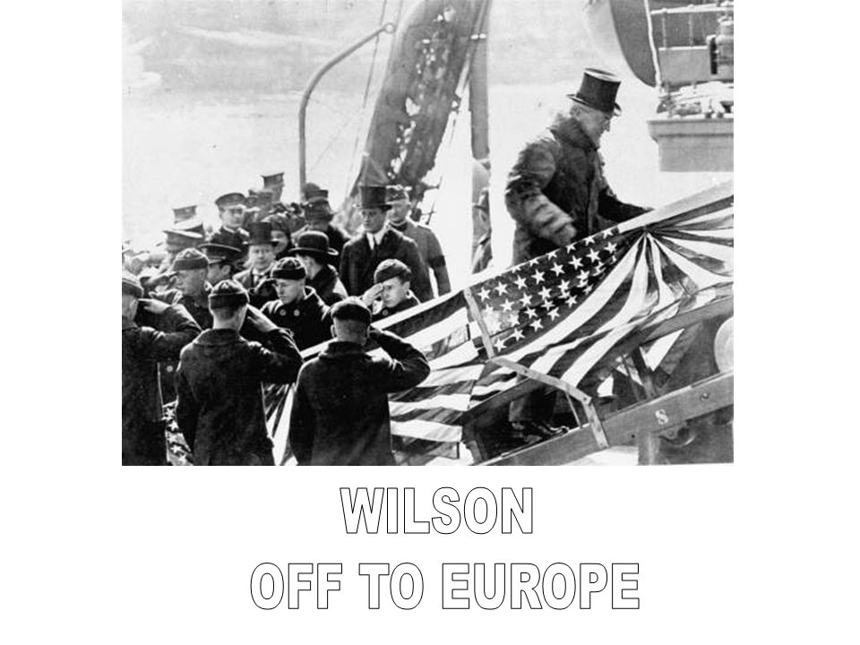 WILSON OFF TO EUROPE