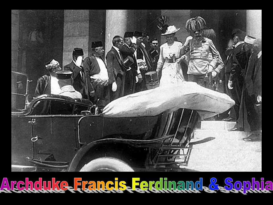 Archduke Francis Ferdinand & Sophia