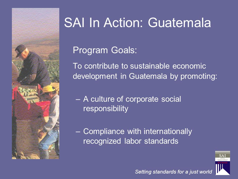 SAI In Action: Guatemala