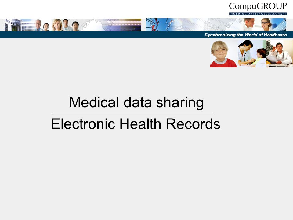 Medical data sharing Electronic Health Records