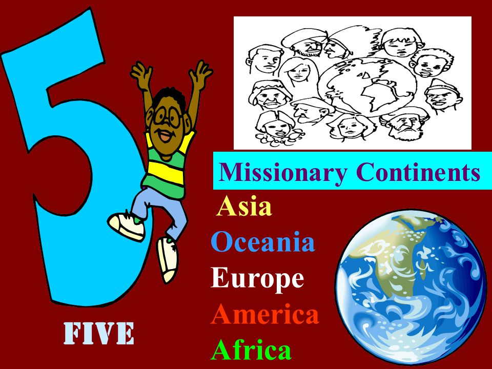 Missionary Continents