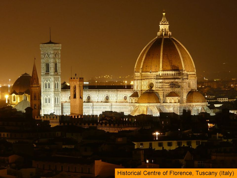 Historical Centre of Florence, Tuscany (Italy)