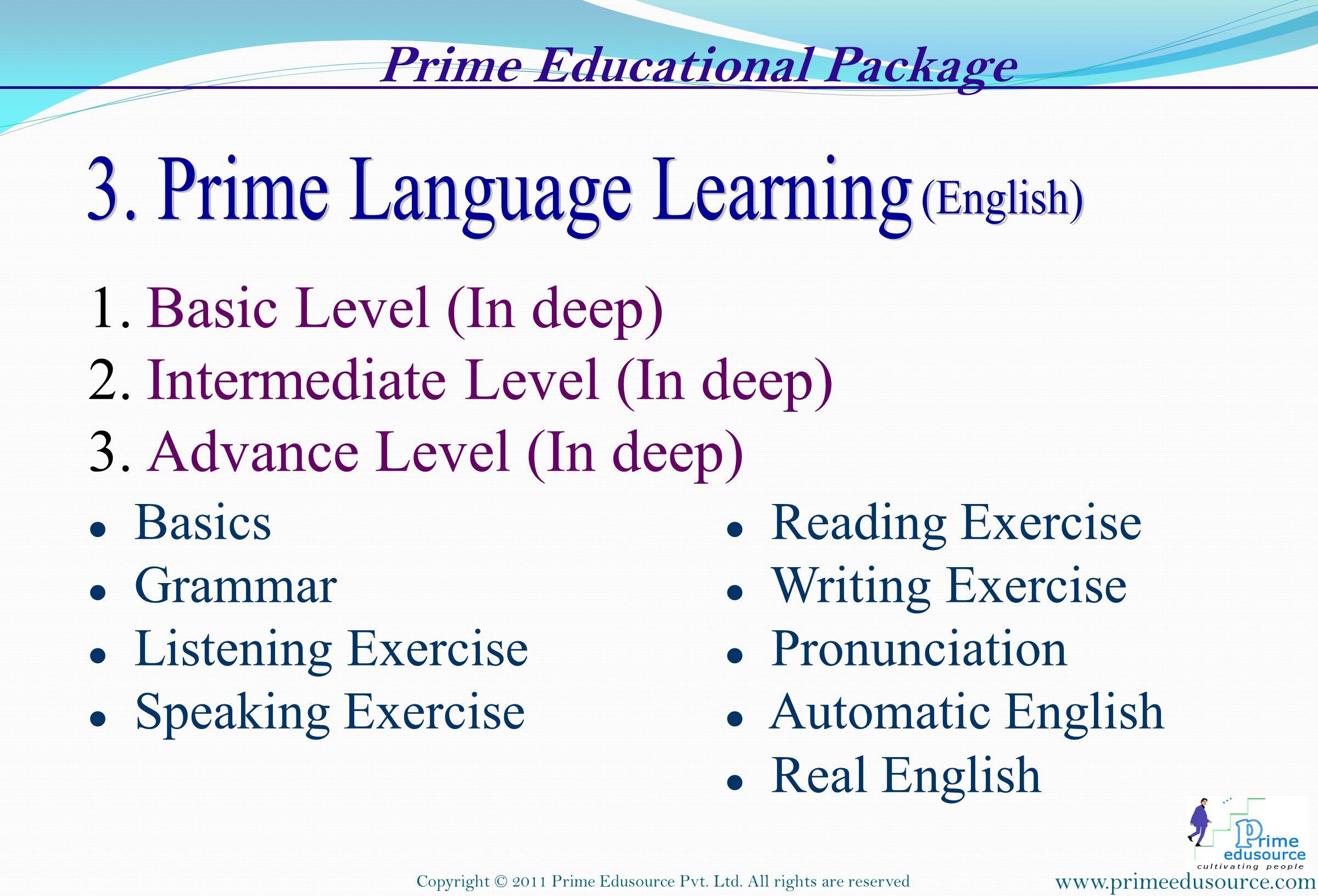 . Prime Educational Package .