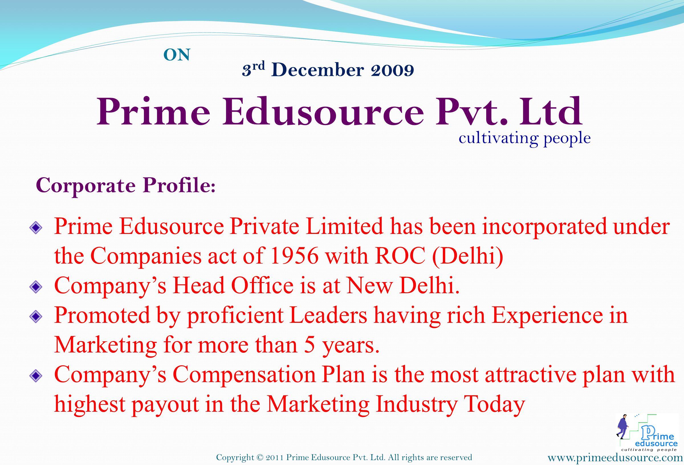 Prime Edusource Pvt. Ltd