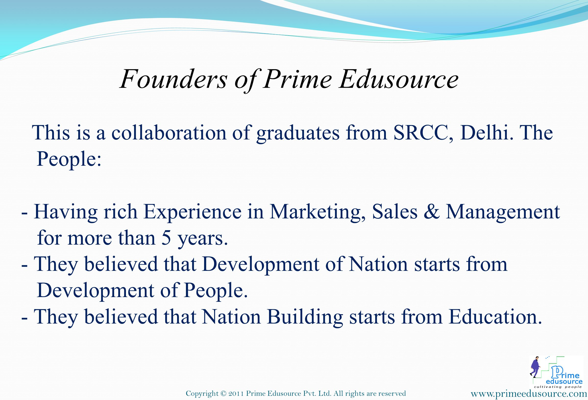 Founders of Prime Edusource