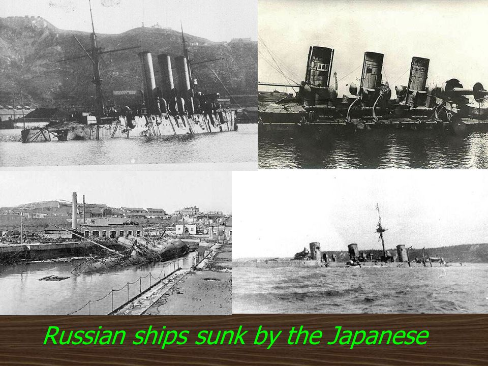 Russo-Japanese War Feb. 1904