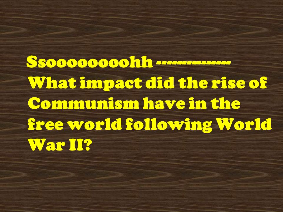 What Factors Led to the Rise of Communism in Russia and China?
