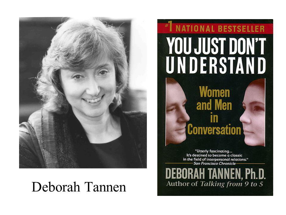 Deborah Tannen