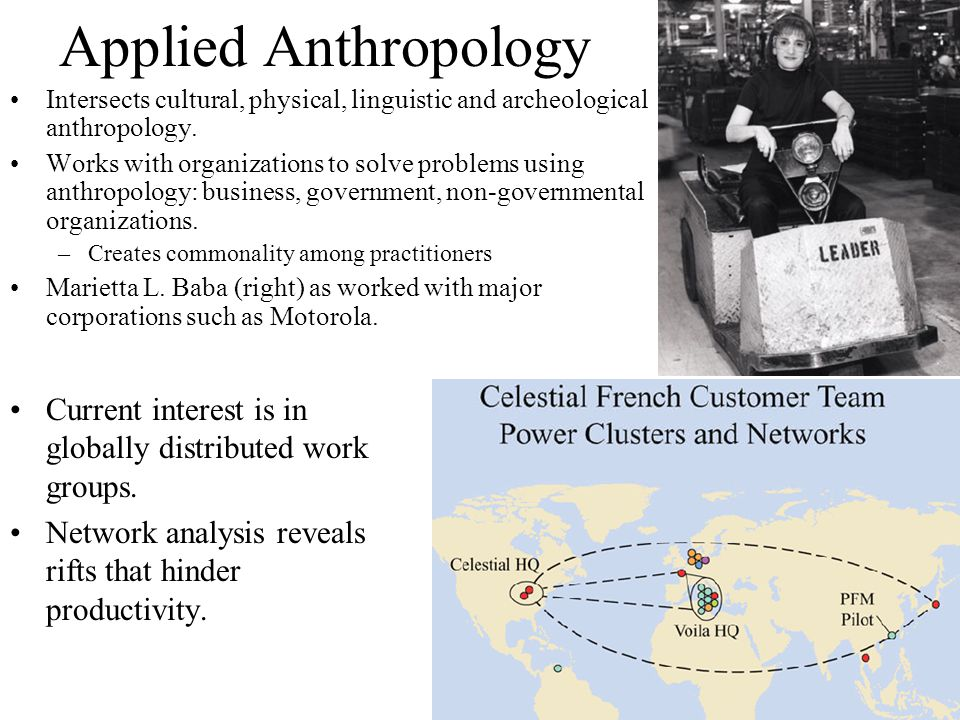 Application of Applied Anthropology