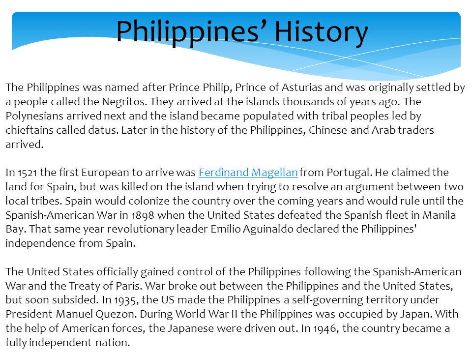 Philippines' History