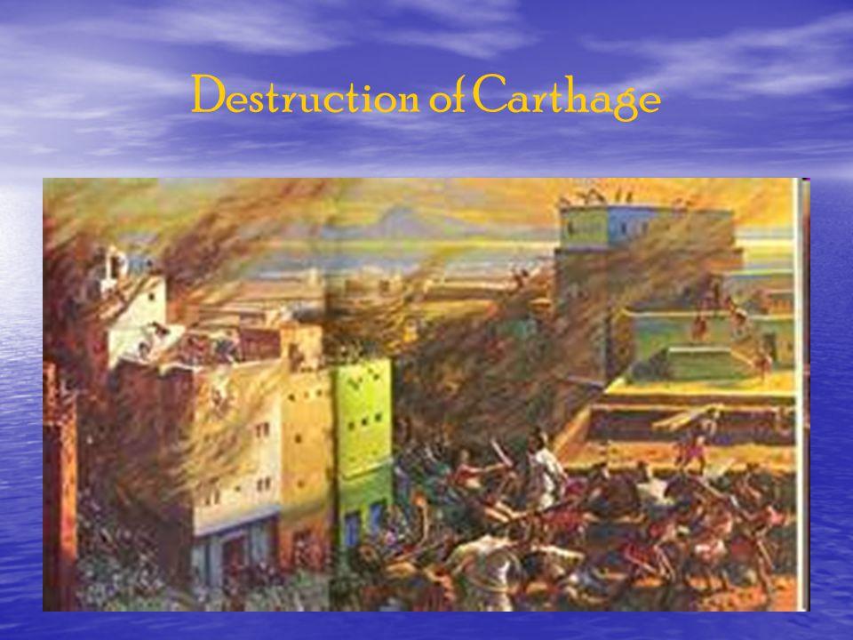 Destruction of Carthage