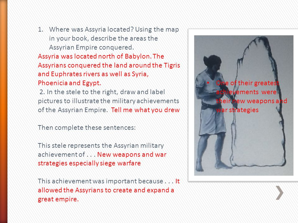 Where was Assyria located