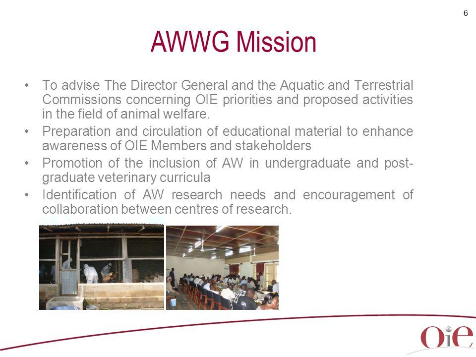 AWWG Mission