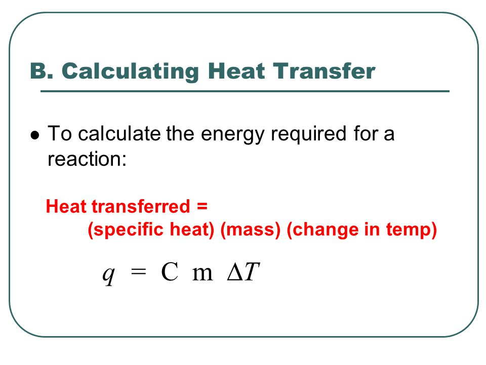 B. Calculating Heat Transfer