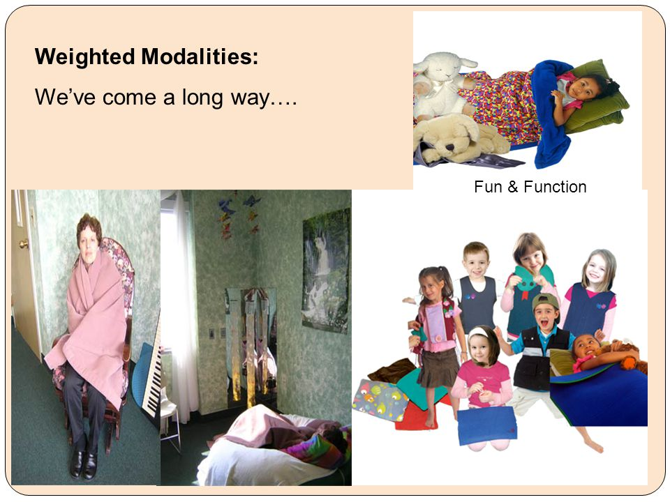 Weighted Modalities: We've come a long way…. Fun & Function
