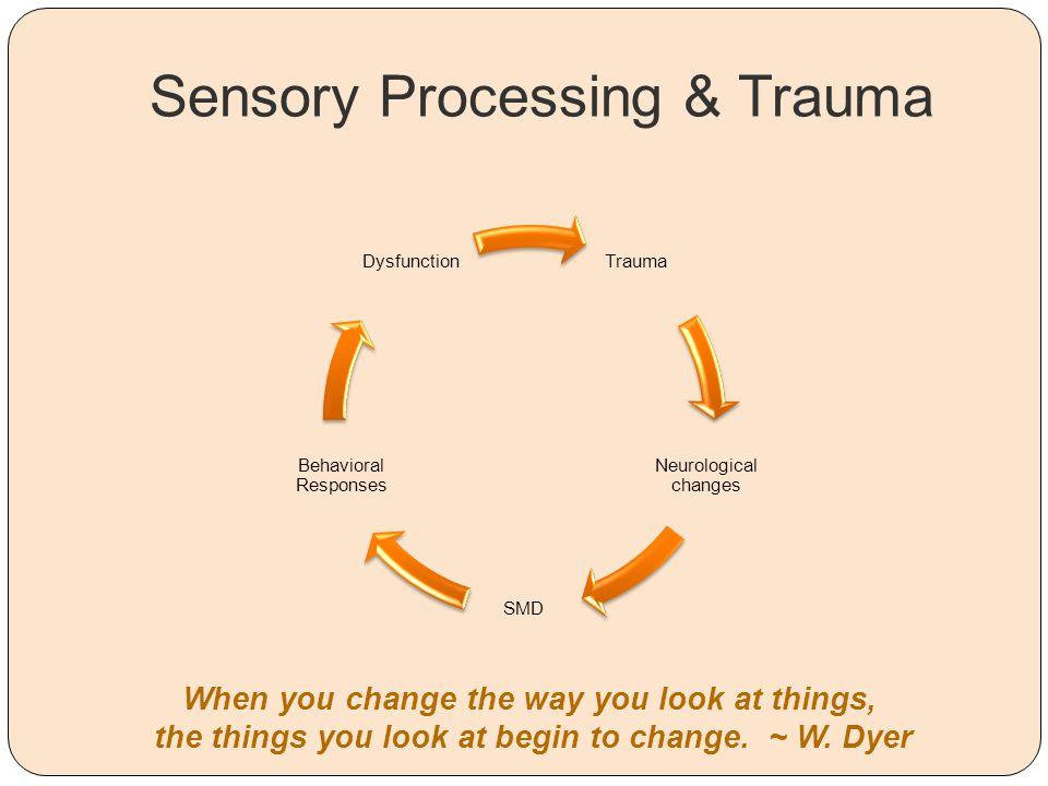 Sensory Processing & Trauma