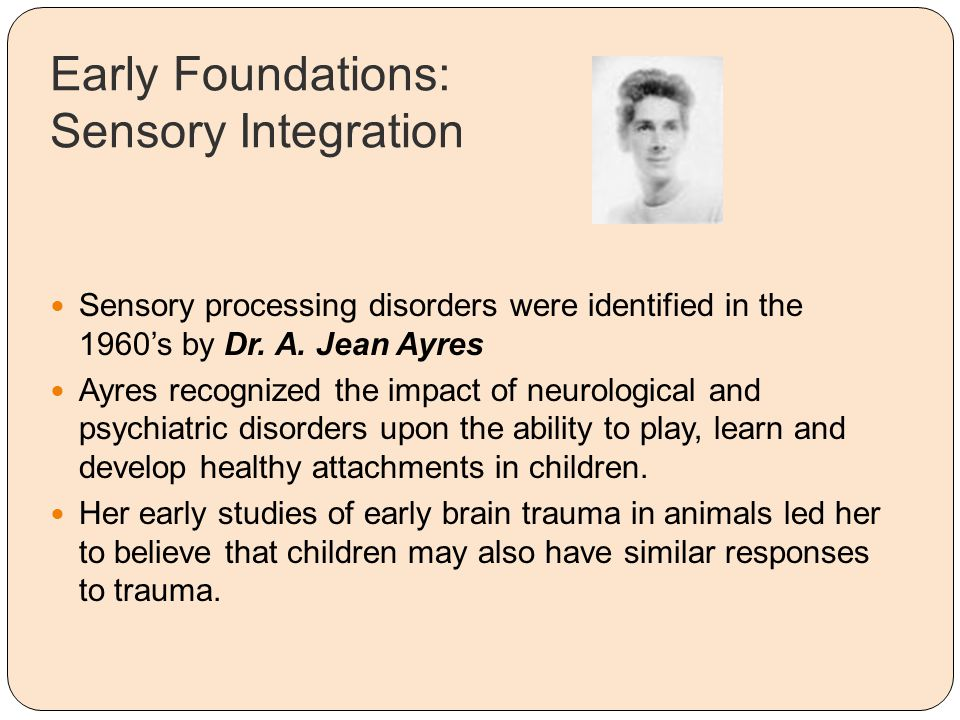 Early Foundations: Sensory Integration