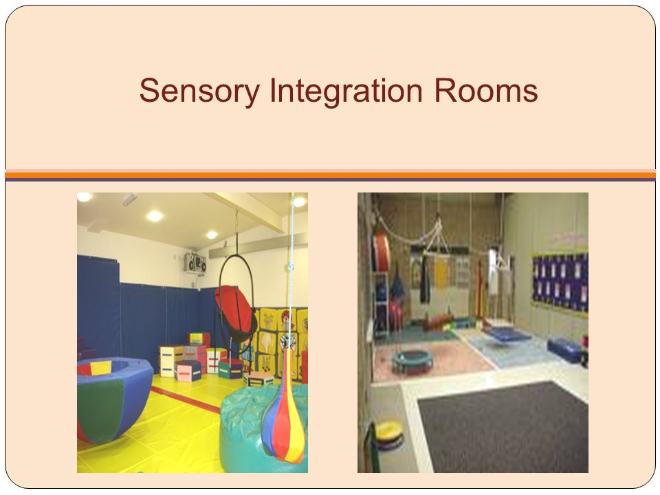 Sensory Integration Rooms
