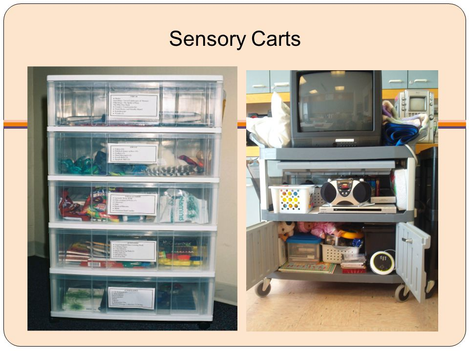 Sensory Carts