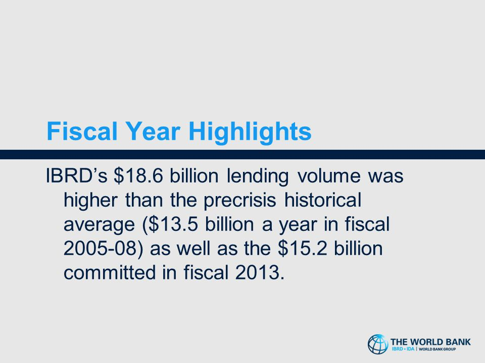 Fiscal Year Highlights