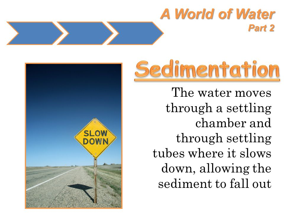 Sedimentation A World of Water Part 2