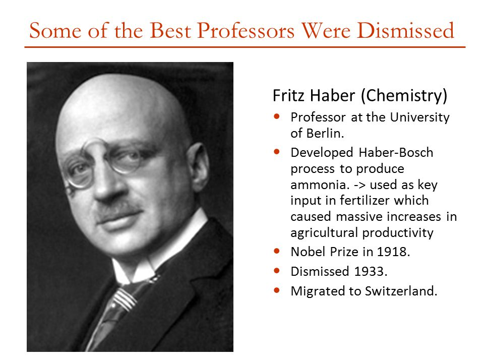 Some of the Best Professors Were Dismissed