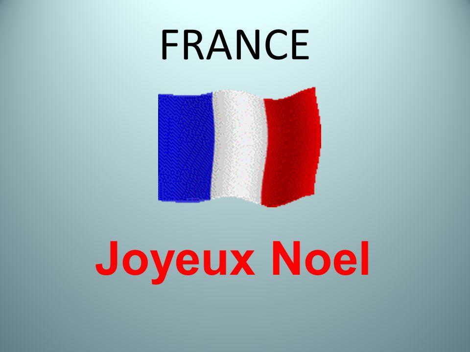 FRANCE Joyeux Noel