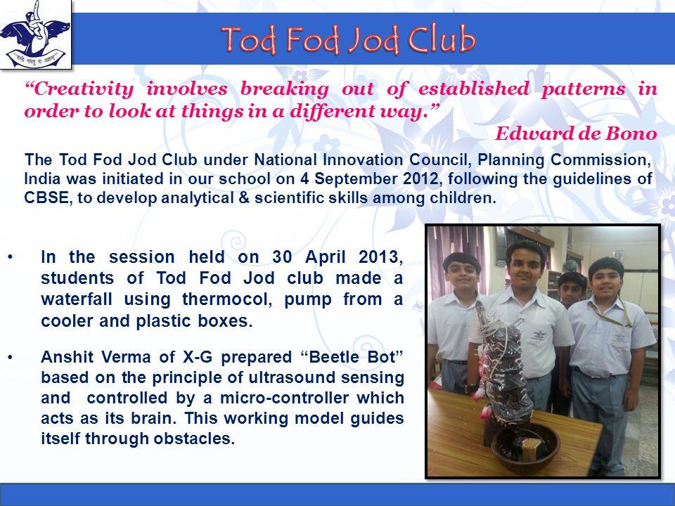 Tod Fod Jod Club Formula 1 Club