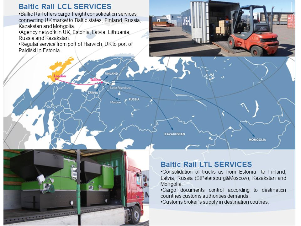 Baltic Rail LCL SERVICES