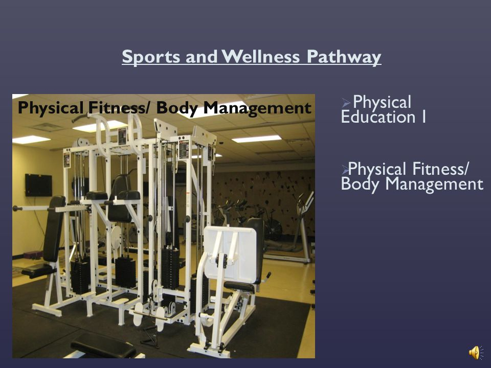 Sports and Wellness Pathway
