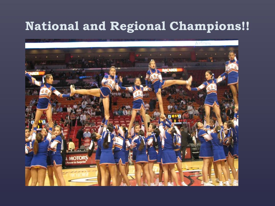 National and Regional Champions!!